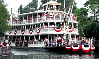 River boat at Walt Disney World image